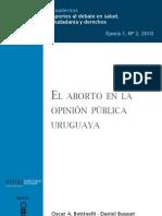 El aborto en la opinión pública uruguaya