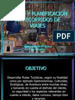 DISEÑO Y PLANIFICACIÓN DE RECORRIDOS DE VIAJES