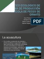 DIAGNOSTICO ECOLOGICO DE UN SISTEMA DE PRODUCCIÓN ACUÍCOLA