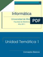 Informática Medicina Unidad 1