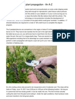 Quick Solutions Of plant propagation - An A-Z
