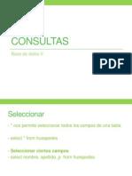 Consultas Bd II