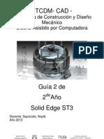 2do Año TCDM (Guía 2) Solid Edge ST3 2012