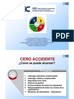 Claves Hacia Una Vision de Cero Accidente - CEC Para OIT - Original