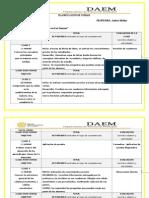 planificación unidad 1 ciencias 8°