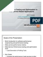 DEVCON08 Web ServiceTesting