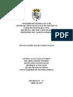 TECNICAS ESPECIAIS DE COMPACTAÇÃO