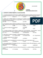 PREENLACE 5TO MATEMATICAS 2012-2013