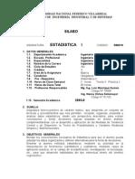 Silabo Estadistica I-2003