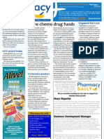 Pharmacy Daily for Mon 06 May 2013 - Chemo boost, Coveram alert, Alphapharm, Singapore pharmacists and much more