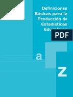 Glosario de Definiciones - Nacional
