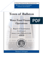 Ballston Water Audit
