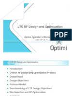 LTE RF Design and Optimization