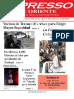 Expresso de Oriente 6 de Mayo Del 2013