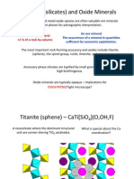 Accessories & Oxides