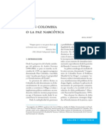 Duro Rosa Plan Colombia o La Paz Narcotica 2002