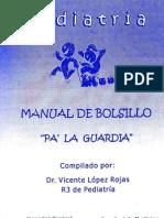 Manual de Pediatria Pa La Guardia