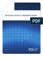The Success of the U.S. Retirement System