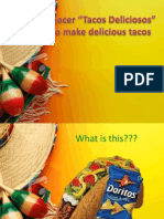 Cinco De MAyo Presentation/ How to make a Taco