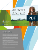 Secret of Success - Tips From European Entrepreneurs