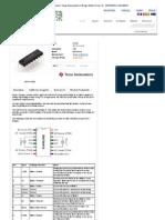 HobbyTronics _ Texas Instruments H-Bridge Motor Driver 1A - SN754410 _COM-00315