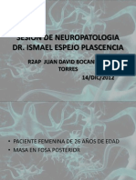 Sesion de Neuropatologia