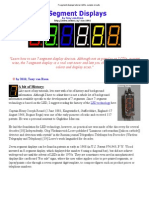 7-Segment Displays Tutorial, LEDs, Sample Circuits