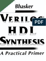 8555922 Verilog HDL Synthesis a Practical Primer Bhasker