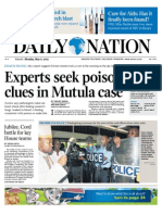Daily Nation May 6th 2013