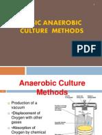 Basic Anaerobic Culture Method