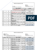 QUÍMICA 6° FORMATO DE PLANEACIÓN Y CALIFICACIÓN DE CLASES I BIMESTRE 2012