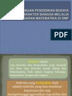 1 Konsep Dasar Pendidikan Budaya Dan Karakter Bangsa Smp