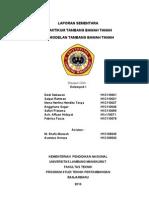 Cover laporan tbt