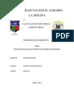 Flujograma de operaciones para el Oregano deshidratado.docx