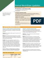 Probiotics and Immunity