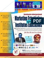 Temario - Marketing Para Institutos Educativos