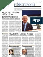 """Giorgio Napolitano. I discorsi veneziani"""