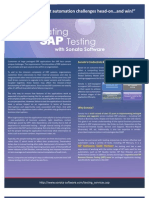 Automating SAP Testing