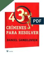 43 Crimenes Para Resolver - Daniel Samoilovich