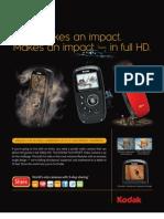 Kodak Playsport Camcorder Specs