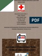 Presentation ASKEP BENcana Alam Dan Suicide