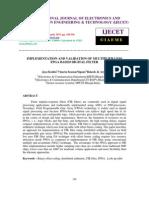 Implementation and Validation of Multiplier Less Fpga Based Digital Filter (1)