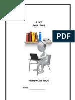 Applied ICT AS Level Cambridge Syllabus Homework Booklet