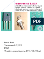 Power Electronics & SCR