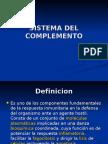 Sistema del Complemento. Inmunologia