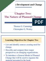 Organizational Development and change