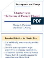 Organizational Development and change
