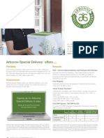 Arbonne Special Delivery Flyer