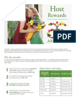 Host Rewards Flyer