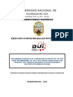 Reglamento Focam Estudiantes 2012